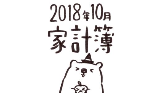 【給料手取り18万円台】2018年10月分家計簿公開